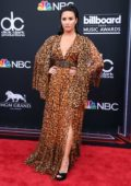 Demi Lovato attends the 2018 Billboard Music Awards at MGM Grand Garden in Las Vegas, Nevada