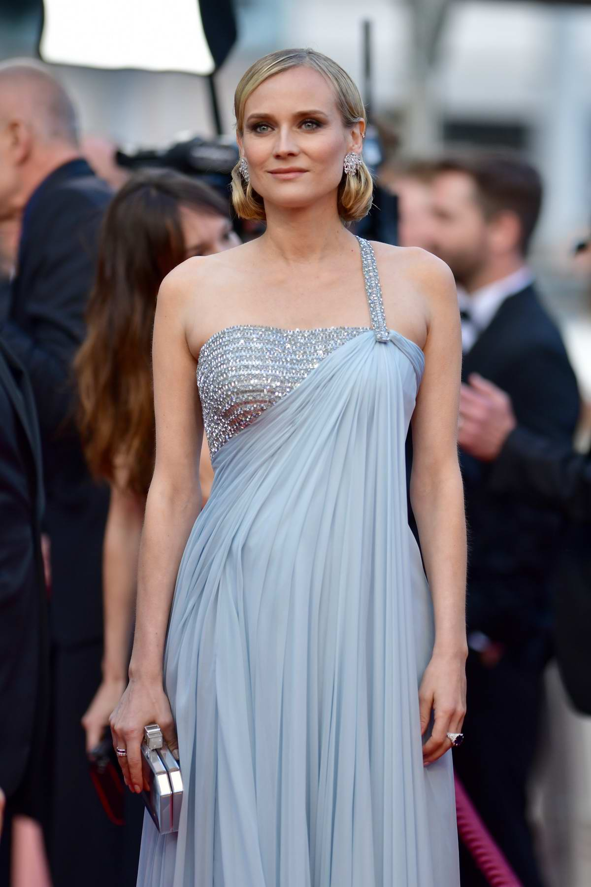 Diane Kruger attends the 'Sink Or Swim' screening during the 71st Cannes Film Festival in Cannes, France