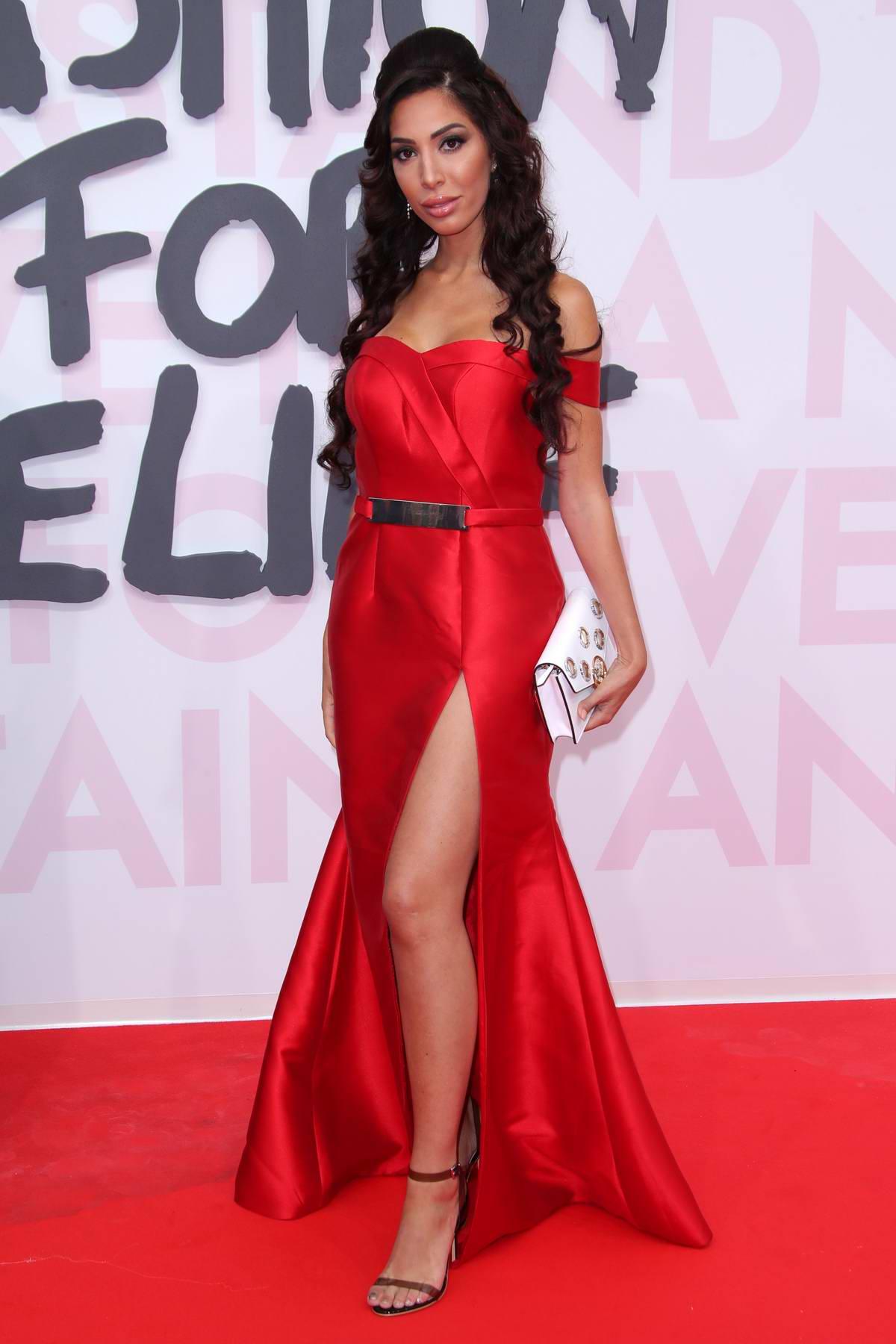Farrah Abraham attends Fashion For Relief, Cannes 2018 during the 71st annual Cannes Film Festival, France