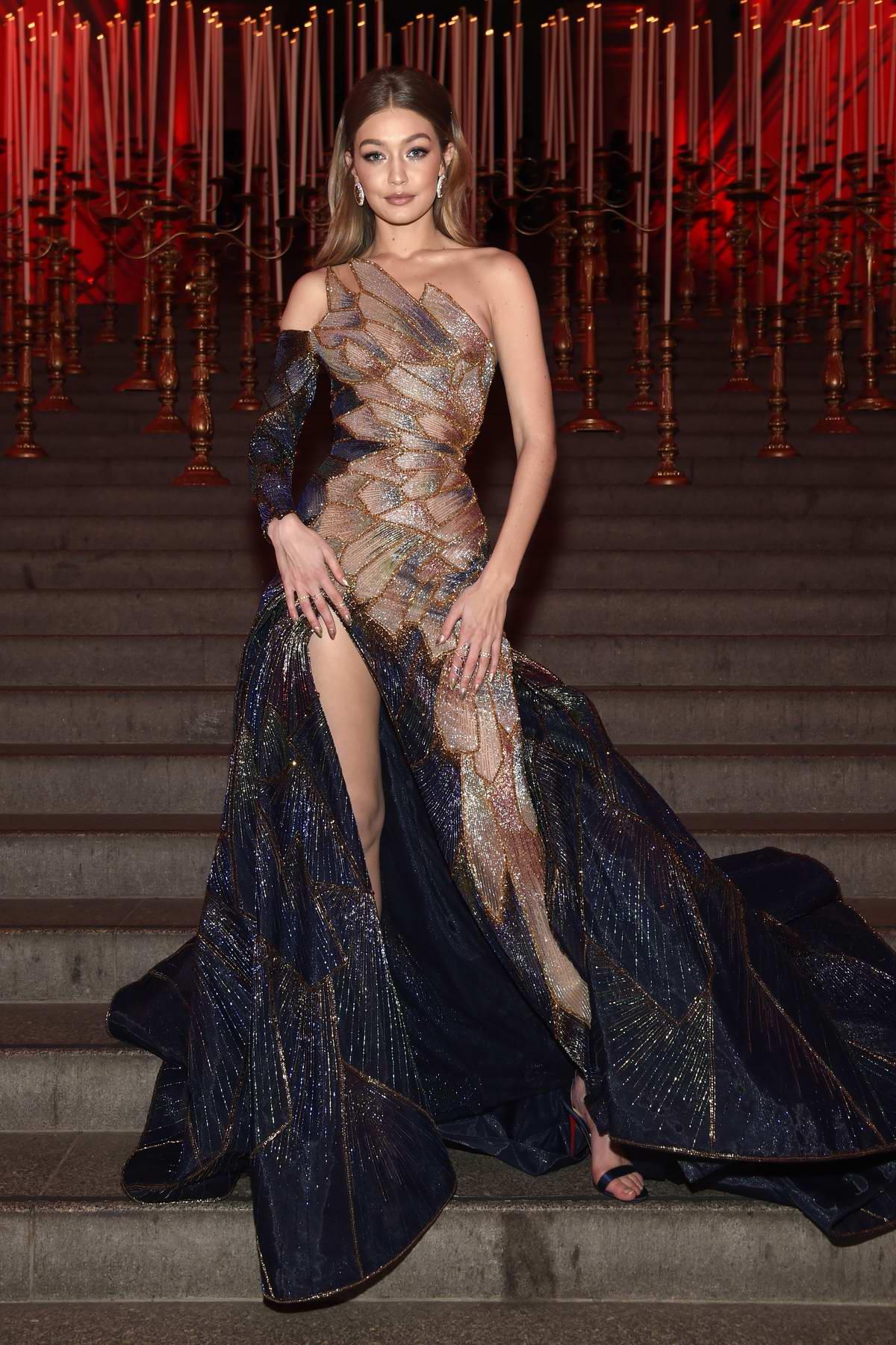 Gigi Hadid attends The Costume Institute Benefit Gala (MET Gala 2018) at Metropolitan Museum of Art in New York City