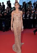 Hailey Baldwin attends 'Girls Of The Sun' premiere during 71st Annual Cannes Film Festival in Cannes, France