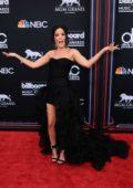 Halsey attends the 2018 Billboard Music Awards at MGM Grand Garden in Las Vegas, Nevada
