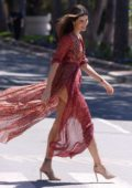 Isabeli Fontana looks stunning in a flowing dress while out during 71st Cannes Film Festival in Cannes, France