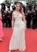 Iskra Lawrence attends 'Sink or Swim' Premiere during the 71st Cannes Film Festival in Cannes, France