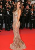 Izabel Goulart attends 'Burning' premiere during 71st Cannes film festival in Cannes, France