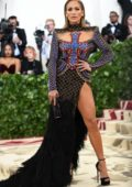 Jennifer Lopez attends The Costume Institute Benefit Gala (MET Gala 2018) at Metropolitan Museum of Art in New York City