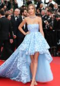 Josephine Skriver at the premiere of 'Sorry Angel' during 71st Cannes Film Festival in Cannes, France