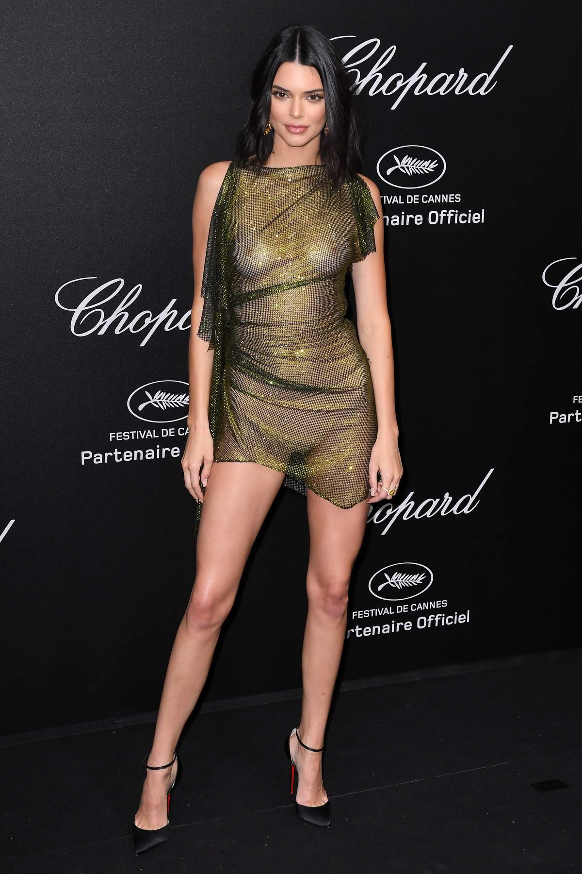 Kendall Jenner attends Secret Chopard party during the 71st Cannes Film Festival in Cannes, France