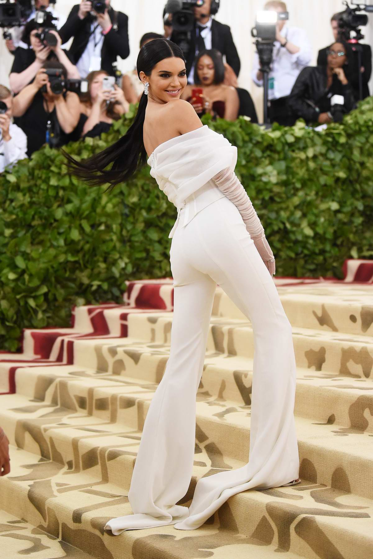 Kendall Jenner attends The Costume Institute Benefit Gala (MET Gala 2018) at Metropolitan Museum of Art in New York City