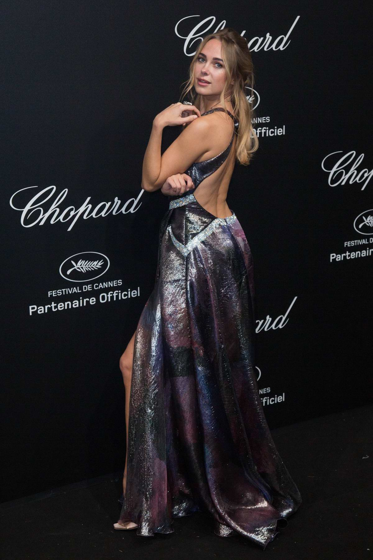 kimberley garner attends secret chopard party during the 71st cannes film festival in cannes, france