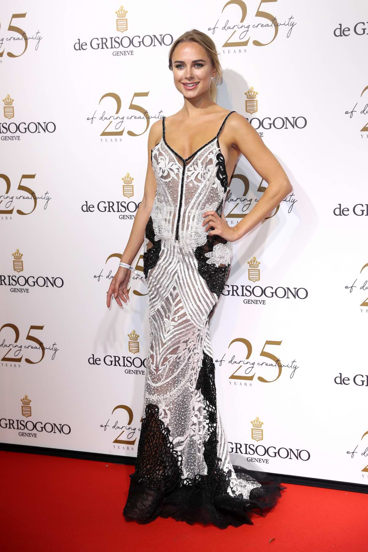 Kimberley Garner attends the De Grisogono party during the 71st annual Cannes Film Festival in Cannes, France