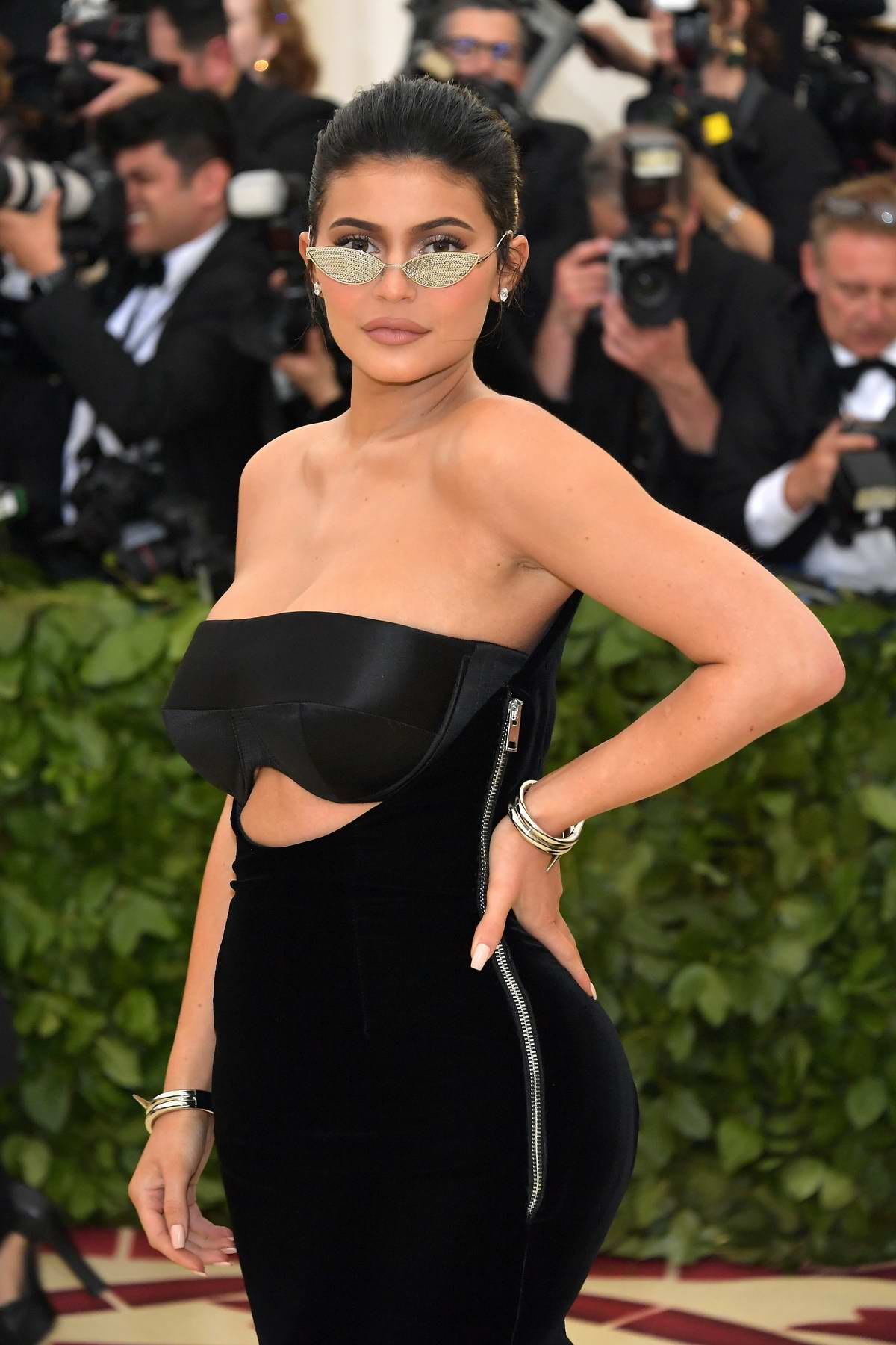 Kylie Jenner attends The Costume Institute Benefit Gala (MET Gala 2018) at Metropolitan Museum of Art in New York City