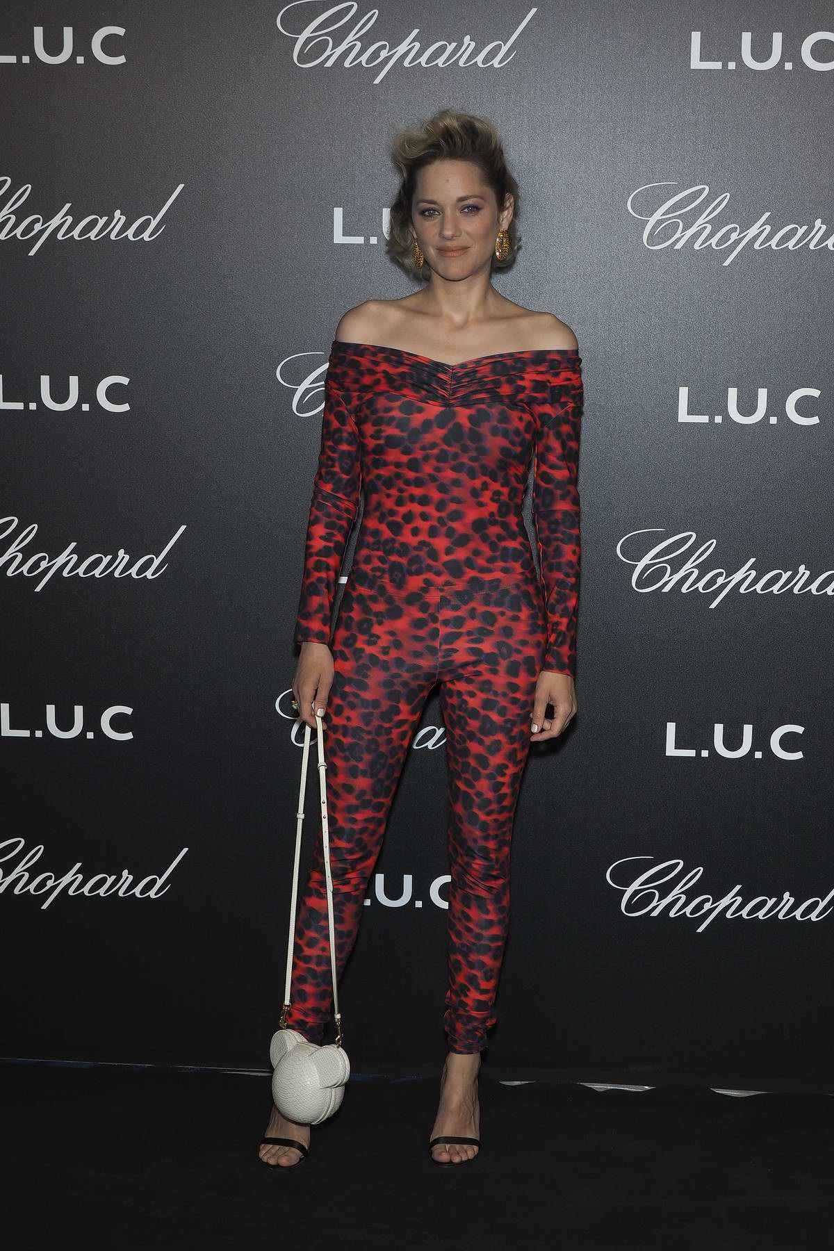 Marion Cotillard attends The Chopard Gentleman's Night during the 71st Annual Cannes Film Festival, France