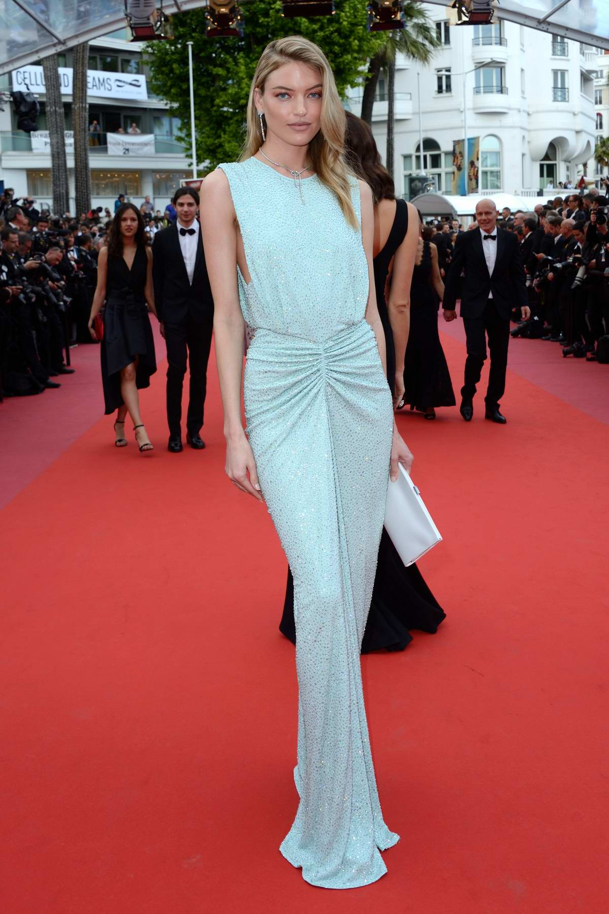 Martha Hunt attending 'The Wild Pear Tree' premiere during the 71st annual Cannes Film Festival in Cannes, France