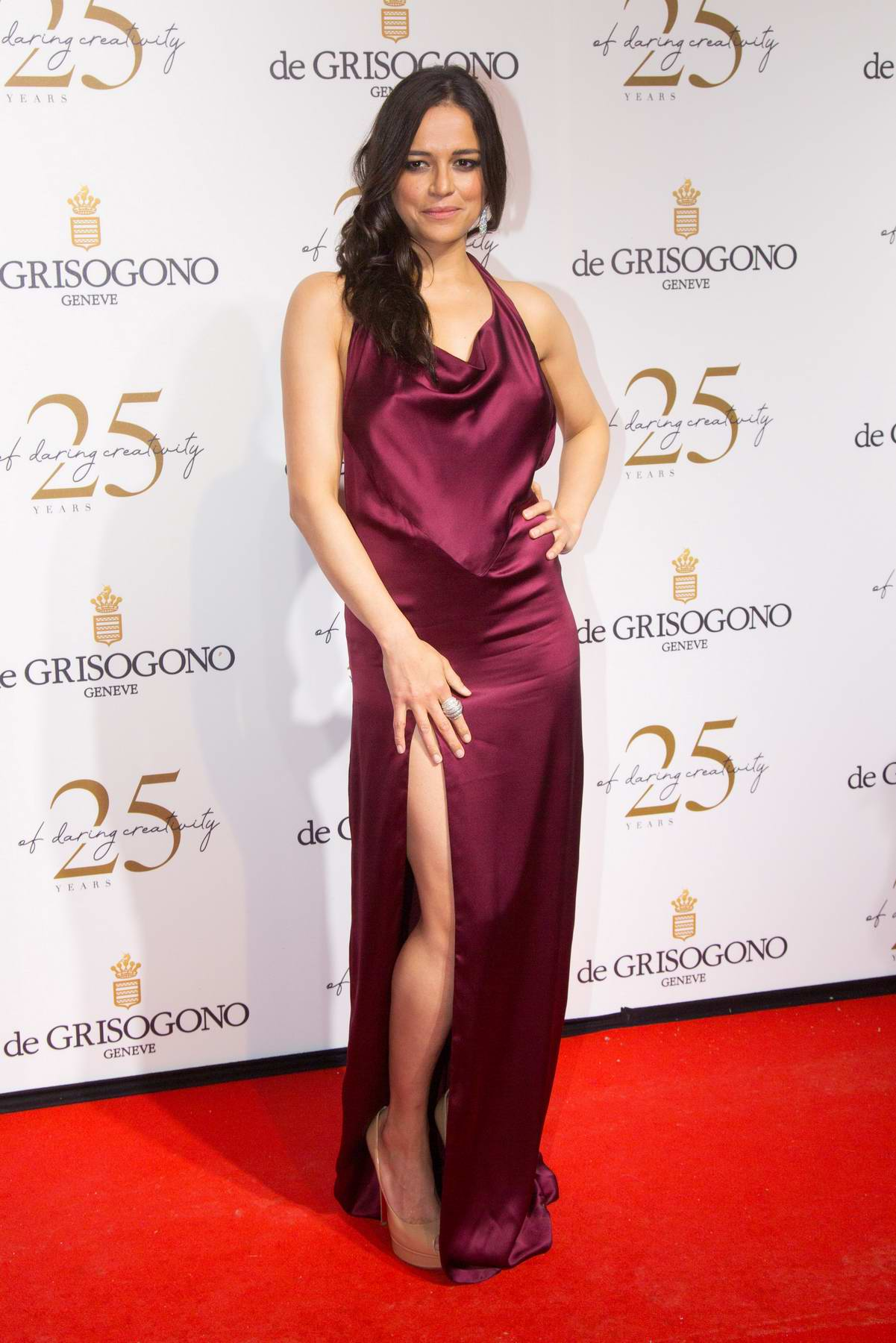 Michelle Rodriguez attends the De Grisogono party during the 71st annual Cannes Film Festival in Cannes, France