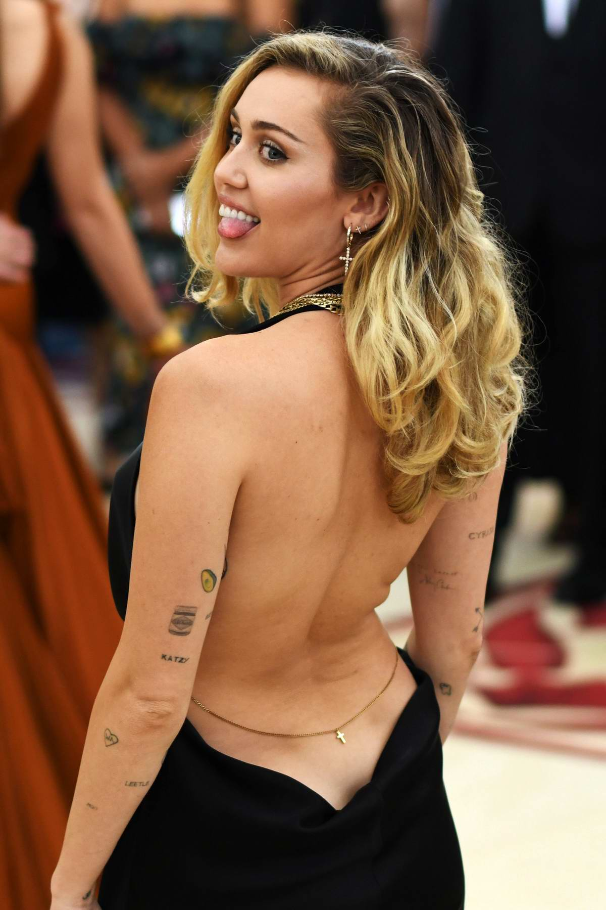 Miley Cyrus attends The Costume Institute Benefit Gala (MET Gala 2018) at Metropolitan Museum of Art in New York City