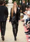 Nadine Leopold walks the runway for Philipp Plein Resort show during the 71st Cannes Film Festival in Cannes, France