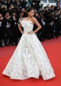 Nicole Scherzinger attends the 'BlacKkKlansman' premiere during 71st Cannes Film Festival in Cannes, France