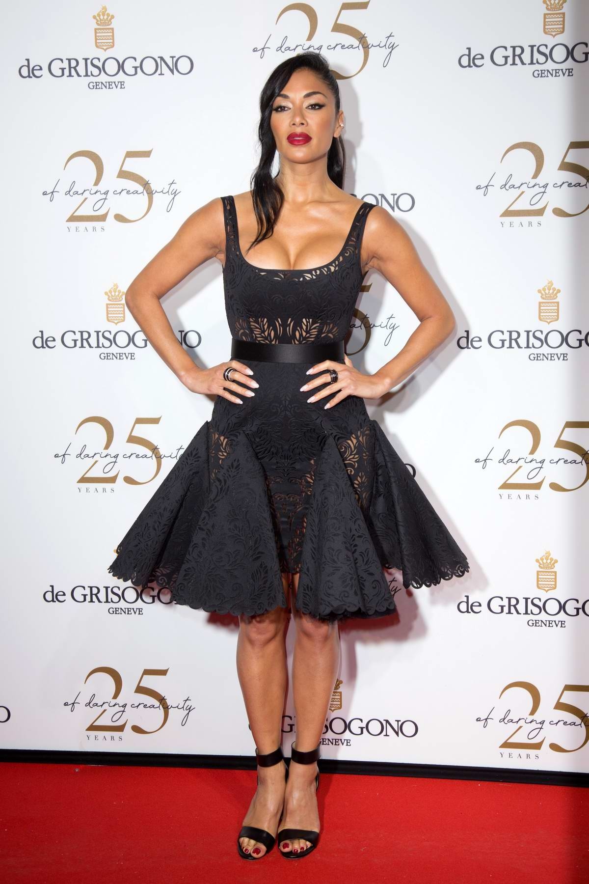 Nicole Scherzinger attends the De Grisogono party during the 71st annual Cannes Film Festival in Cannes, France