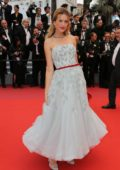 Petra Nemcova attends 'Burning' premiere during 71st Cannes film festival in Cannes, France