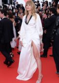 Petra Nemcova attends the 'BlacKkKlansman' premiere during 71st Cannes Film Festival in Cannes, France
