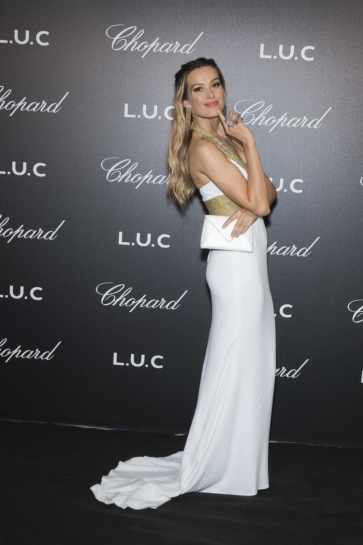 Petra Nemcova attends The Chopard Gentleman's Night during the 71st Annual Cannes Film Festival, France
