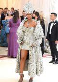 Rihanna attends The Costume Institute Benefit Gala (MET Gala 2018) at Metropolitan Museum of Art in New York City
