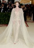 Rosie Huntington-Whiteley attends The Costume Institute Benefit Gala (MET Gala 2018) at Metropolitan Museum of Art in New York City
