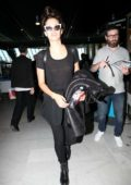 Sara Sampaio arrives at Nice airport as part as the 71st Cannes Film Festival in Nice, France