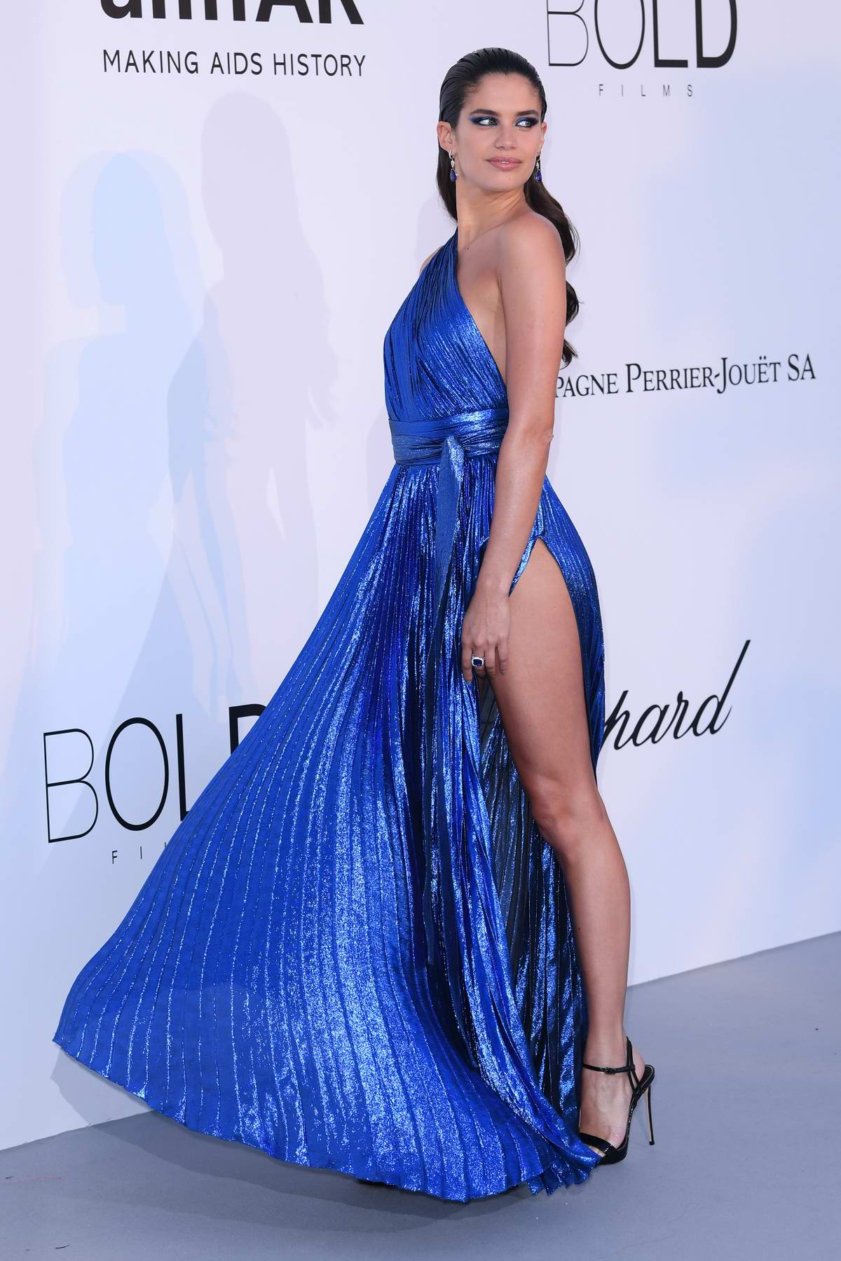 Sara Sampaio at the amfAR's 25th Cinema Against AIDS Gala during 71st Cannes Film Festival, France