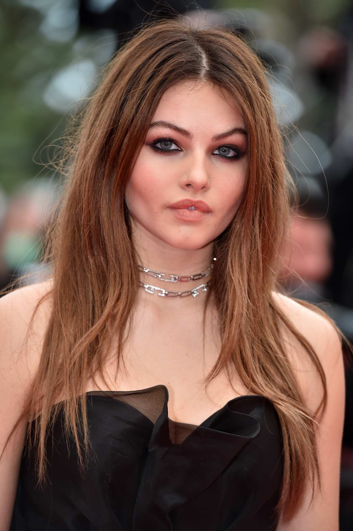 Thylane Blondeau at the premiere of 'Sorry Angel' during 71st Cannes Film Festival in Cannes, France