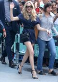 Amanda Seyfried promotes 'Mamma Mia! Here We Go Again' at AOL Build Series in New York City
