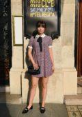 Ana de Armas attends Miu Miu 2019 Cruise Collection show in Paris, France
