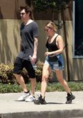 Ashley Tisdale spotted while out on stroll with husband Christopher French in Los Angeles