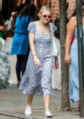 Dakota Fanning and boyfriend Henry Frye seen heading out for lunch in New York City