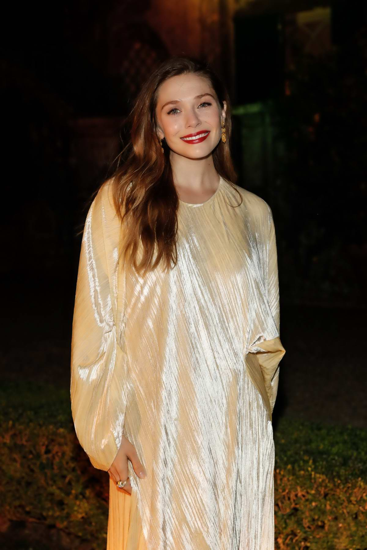 Elizabeth Olsen at 3rd annual Rosetta Getty's Tuscany weekend in Italy