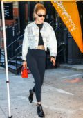 Gigi Hadid seen heading out for the day with Zayn Malik in New York City