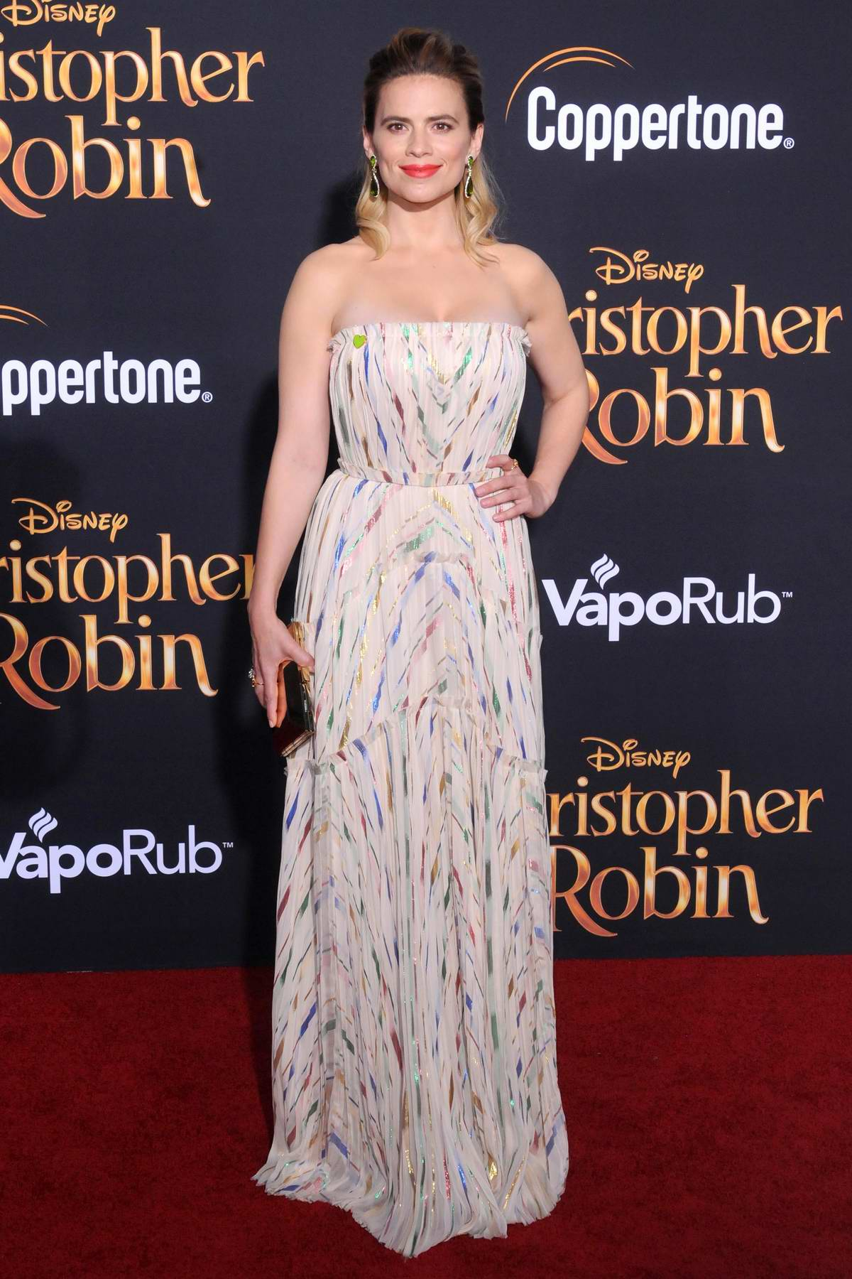 Hayley Atwell attends 'Christopher Robin' premiere in Los Angeles