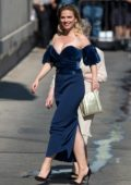 Hayley Atwell seen while arriving 'Jimmy Kimmel Live' in Los Angeles