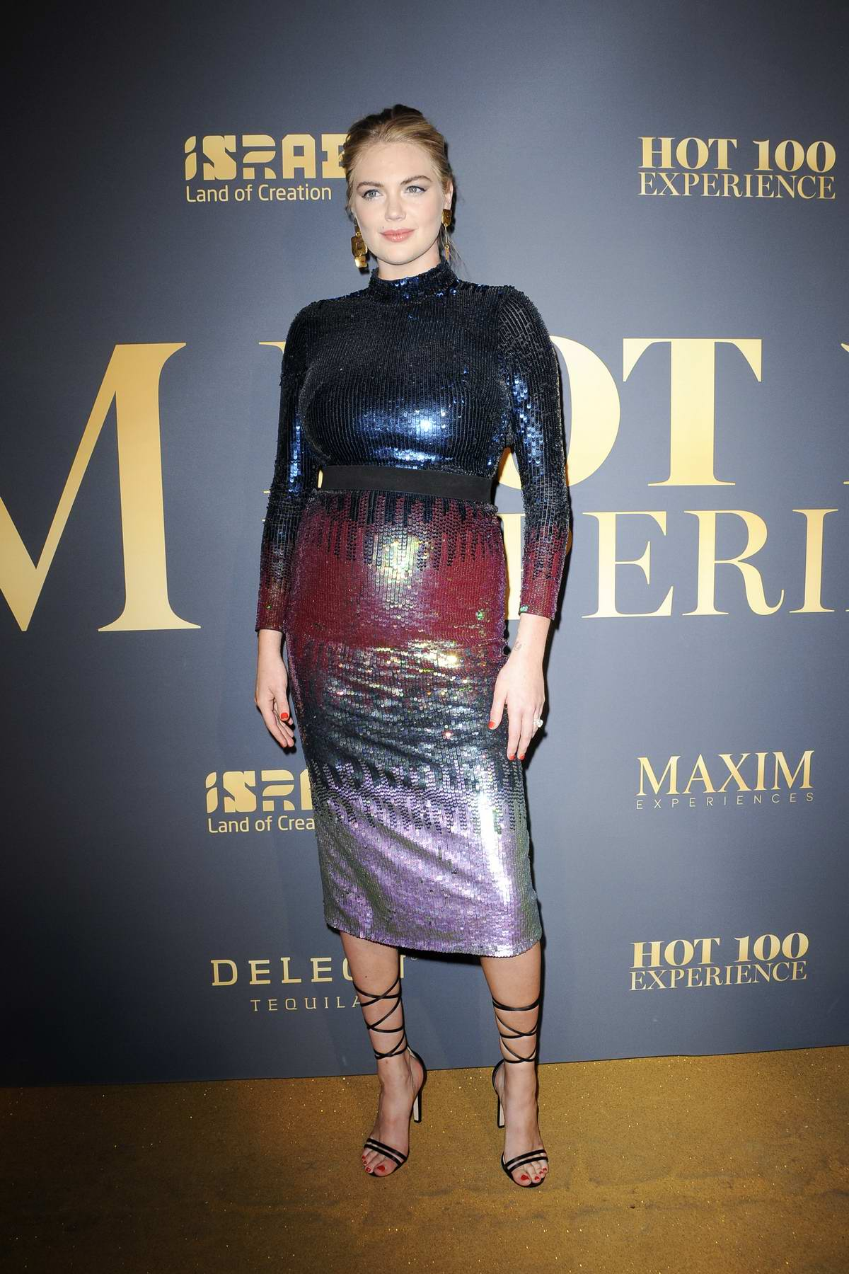 Kate Upton attends MAXIM hot 100 Experiences Party 2018 in Los Angeles