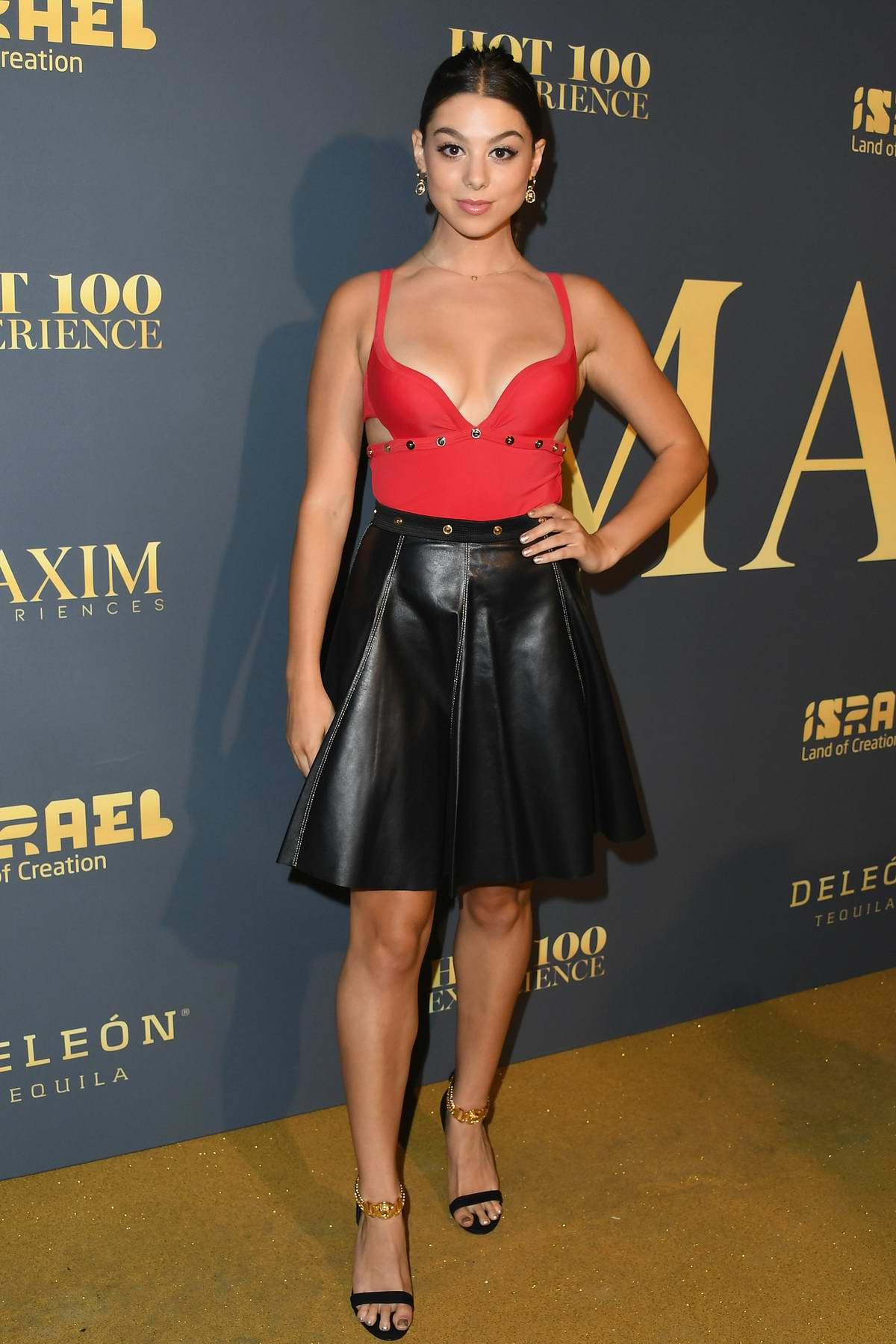 Kira Kosarin attends the MAXIM Hot 100 Experience at Hollywood Palladium in Los Angeles