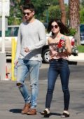 Lucy Hale and Ryan Rottman spotted together as they grabbed some coffee in Los Angeles