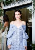 Lucy Hale attends the Jonathan Simkhai West Coast Flagship Opening Celebration in Los Angeles