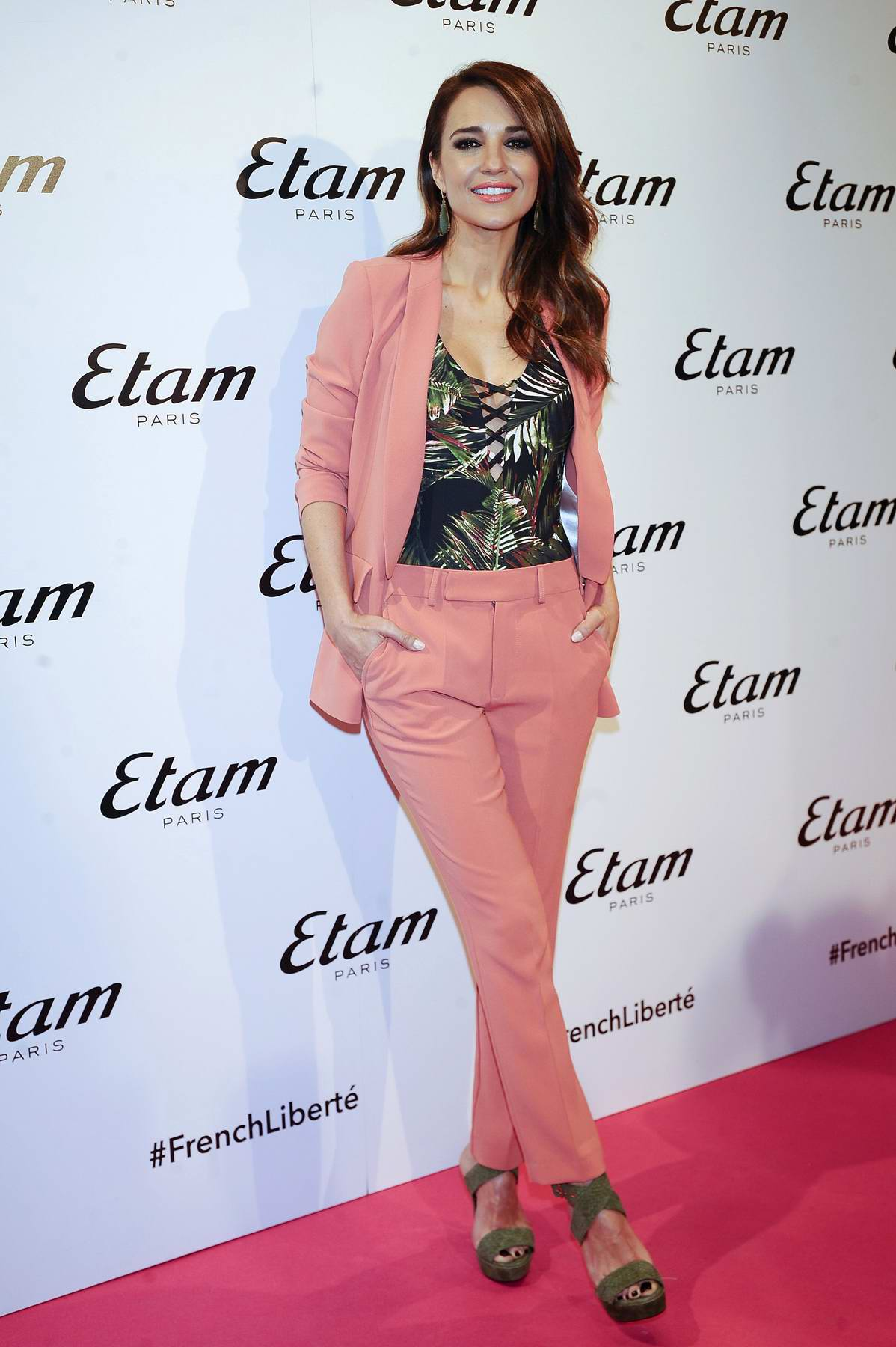 Paula Echevarria attends ETAM new collection presentation in Madrid, Spain