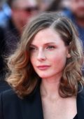 Rebecca Ferguson attends the Global Premiere of 'Mission: Impossible - Fallout' at Palais de Chaillot in Paris, France