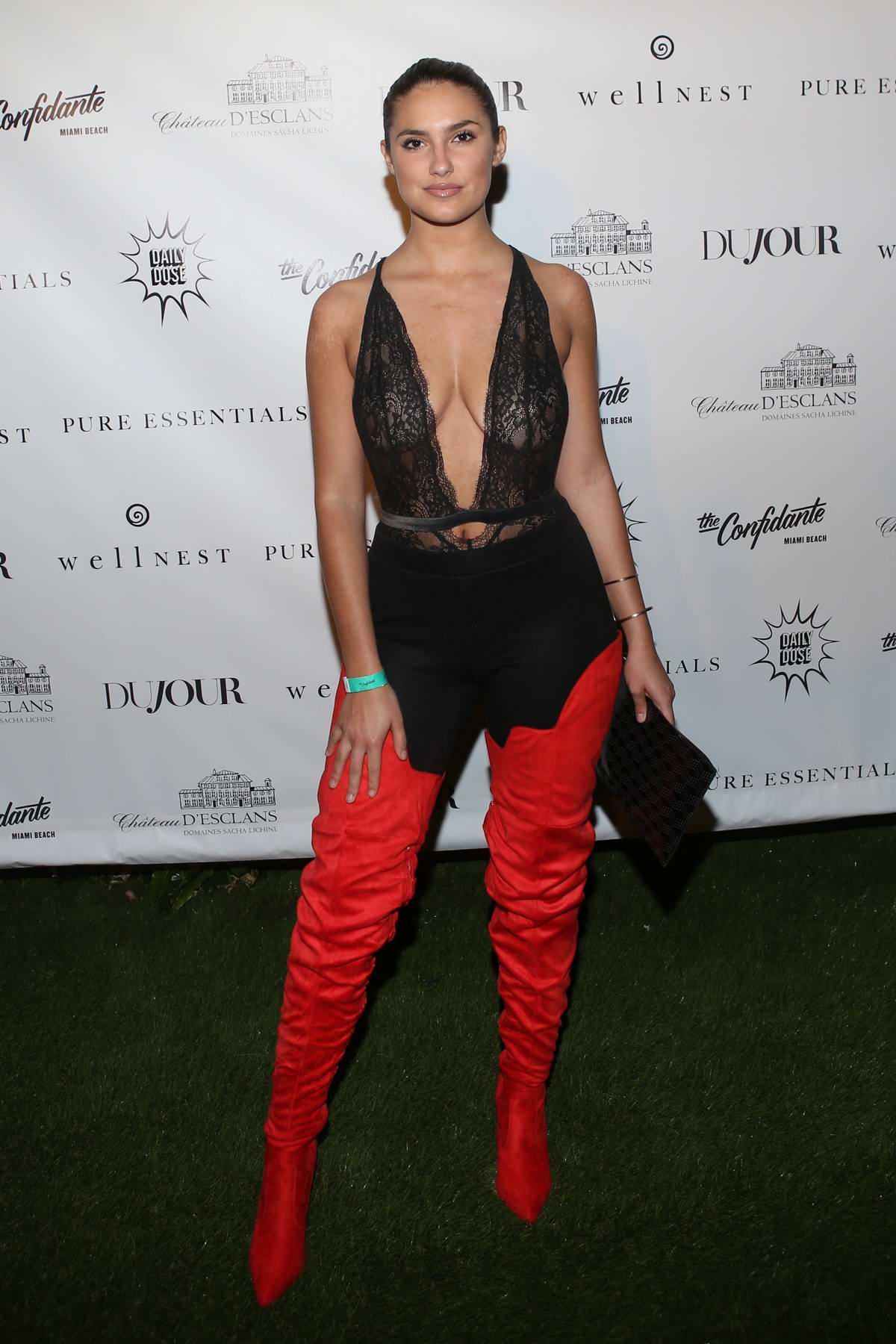 Tao Wickrath attends Sofia Richie's Art Basel party for Dujour Magazine in Miami, Florida