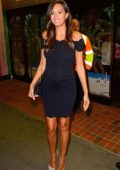 Tyla Carr seen leaving The Love Island viewing party held at Tropicana Beach Club in London, UK