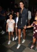 Alessandra Ambrosio celebrates daughter Anja's 10th birthday with a girls trip to Ariana Grande's private show in Los Angeles