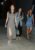 Alexandra Daddario enjoys a girls night out in Los Angeles