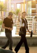 Amber Heard spotted with a mystery man during a night out in Hollywood, Los Angeles